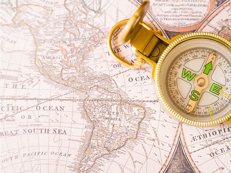توجه به نقشه ها در مطالعه جغرافیا
