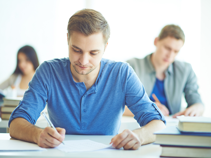 قبولی در امتحانات