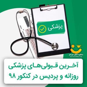 آخرین رتبه لازم برای قبولی پزشکی