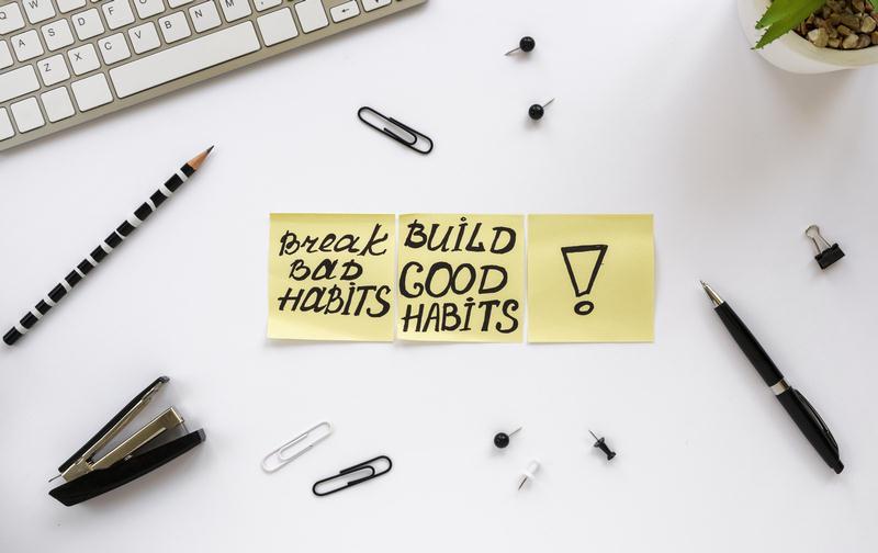 ساختن عادت های مثبت